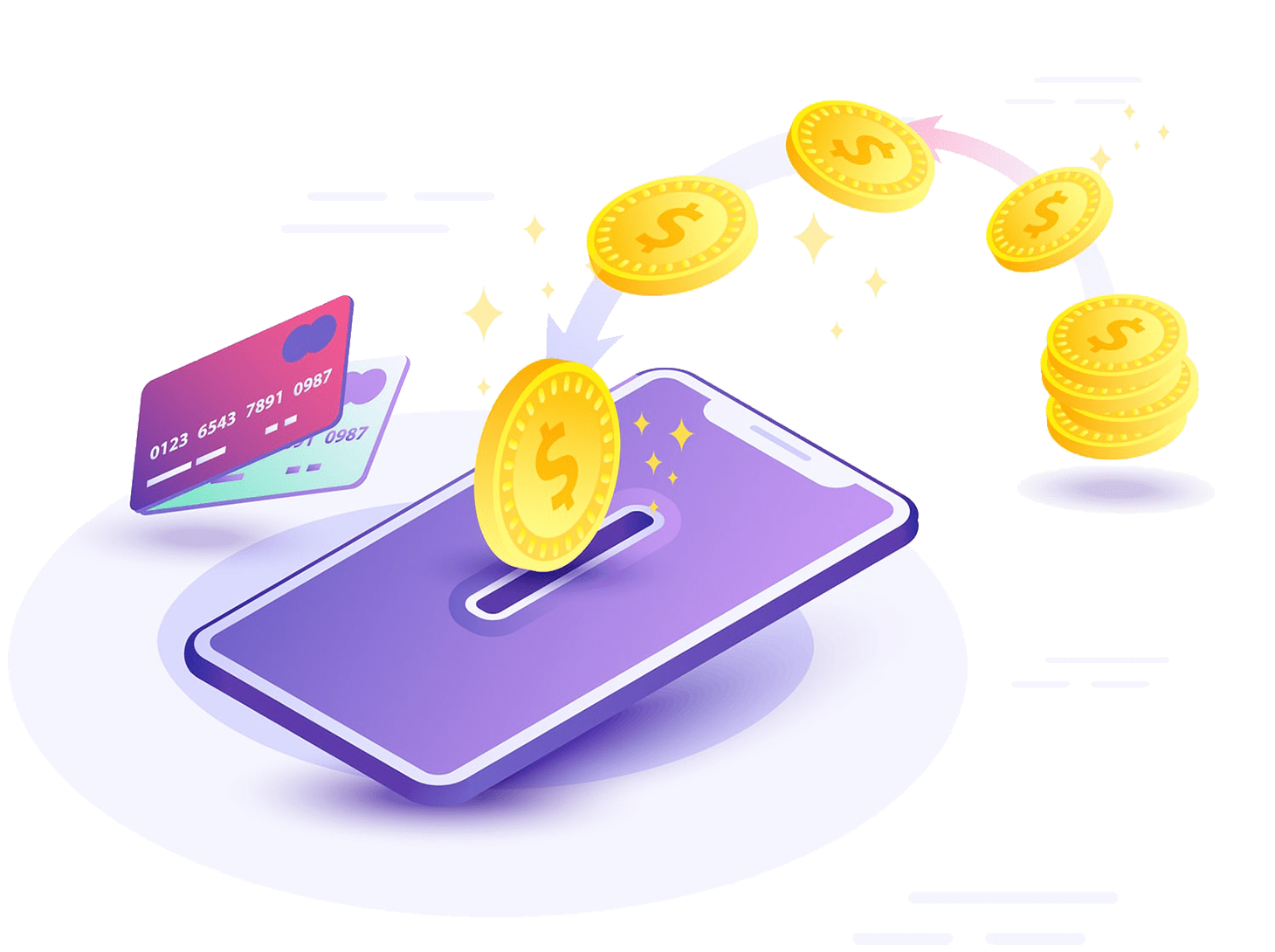 The main features of Money SMS