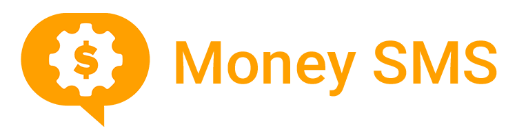 Money SMS logo footer