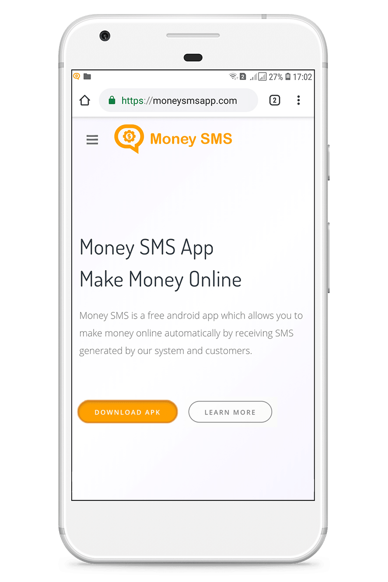 Money SMS app - How to make money online instructions