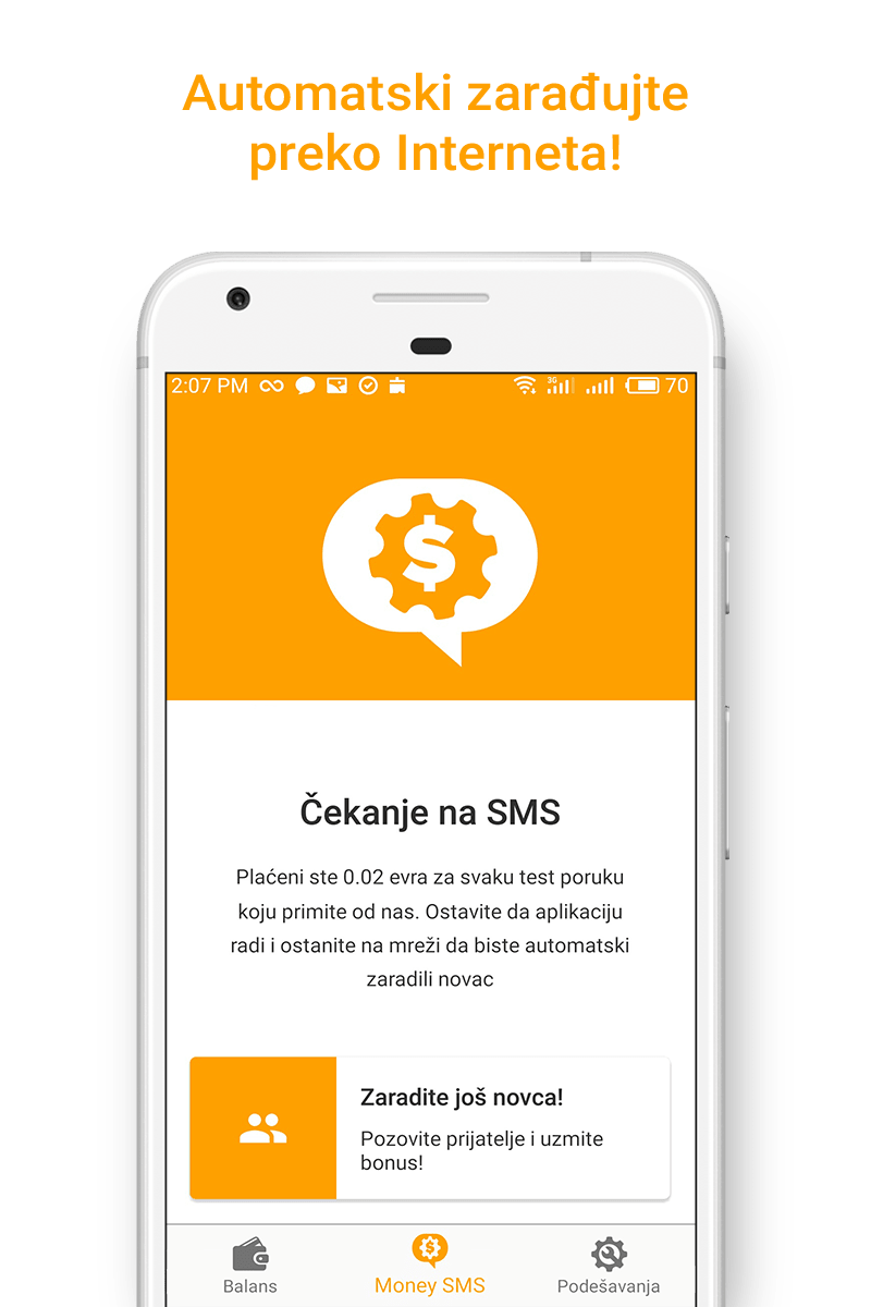 Money SMS app - Automatski zarađujte preko Interneta! - 01-screenshot