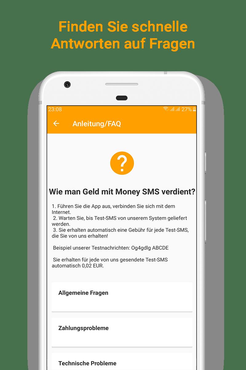 Money SMS app - Finden Sie schnelle Antworten auf Fragen - 08-screenshot