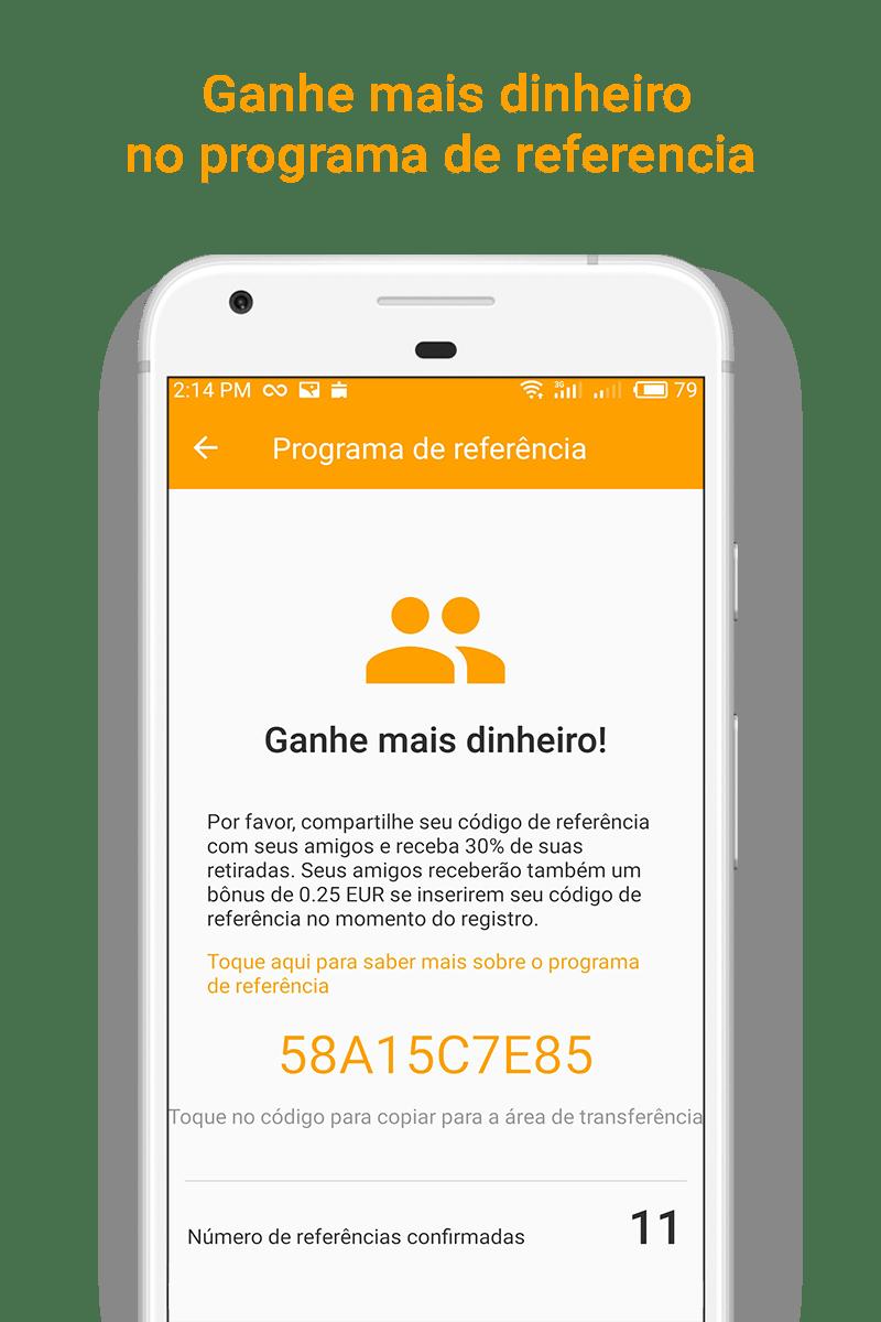 Money SMS app - Ganhe mais dinheiro no programa de referencia - 04-picture