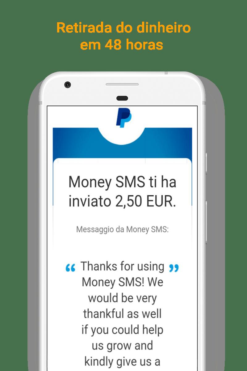 Money SMS app - Retirada do dinheiro em 48 horas - 09-picture
