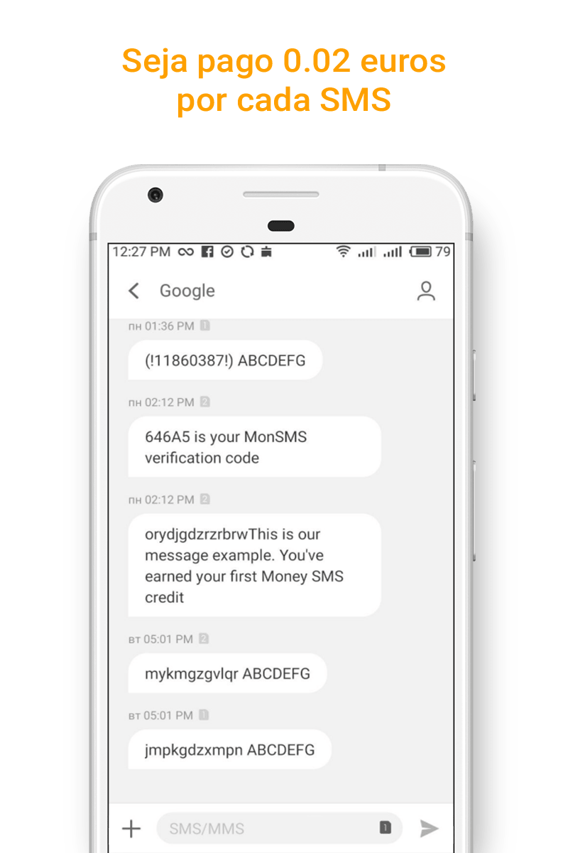 Money SMS app - Seja pago 0.02 euros por cada SMS - 02-picture